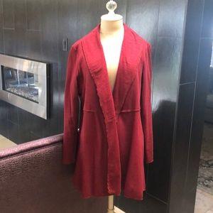 Neon Buddha red cotton jacket